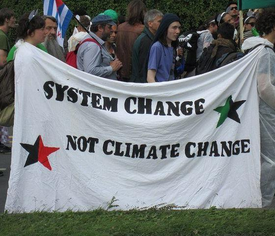 System Change Not Climate Change by Eoghan Olionnain via flickr