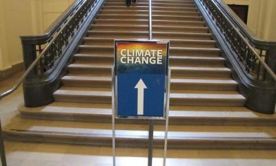 This Way to Climate Change Exhibit by America's Power via flickr