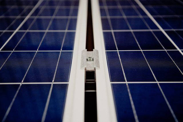 solar panel by Markus Spiske via flickr
