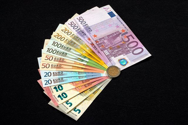 Colors of money By Ervins Strauhmanis Via Flickr