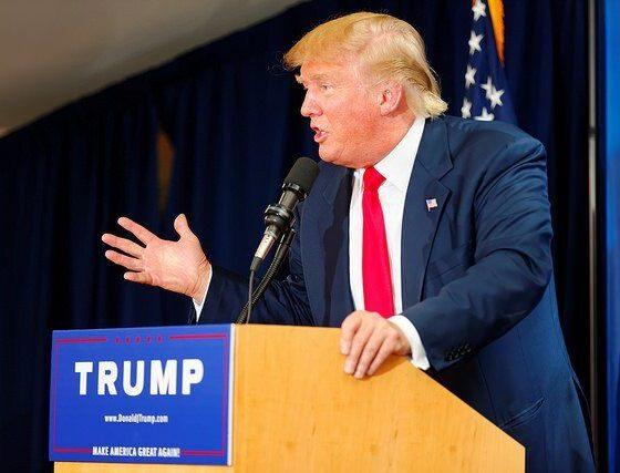 Donald Trump Laconia Rally, Laconia, NH by Michael Vadon July 16 2015 by Michael Vadon via flickr