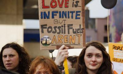 Fossil Fuel Disinvestment March by Trocaire via flickr