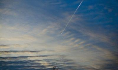 Jet Fumes by tjsalo via flickr