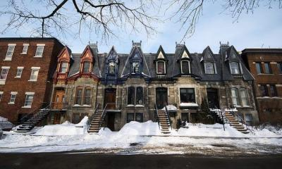More Victorian Houses by Maelick via flickr