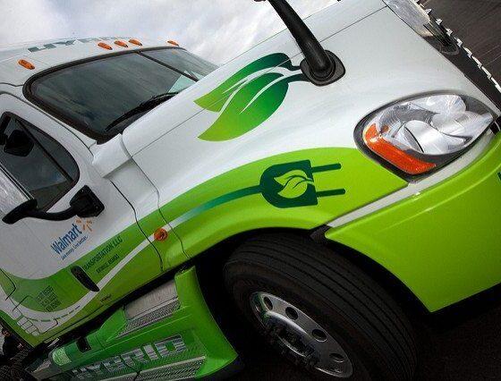 Walmart Hybrid Assist Truck by Walmart via flickr