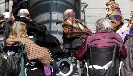 Wheelchair Springtime Gang by Fran Urbano via flickr