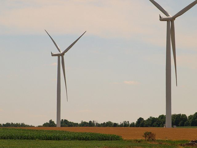 Wind Farm Realities by Michael Gil via flickr