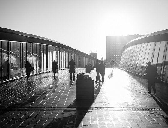 commuters by ben pugh via flickr