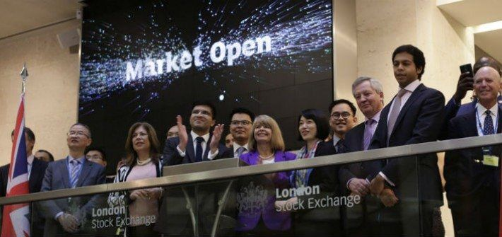 Bank of China Discuss Green Bonds At London Stock Exchange