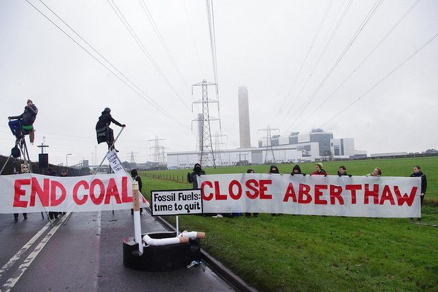 UK's Most Polluting Power Station Blockaded Over Air Pollution Deaths & Climate Change