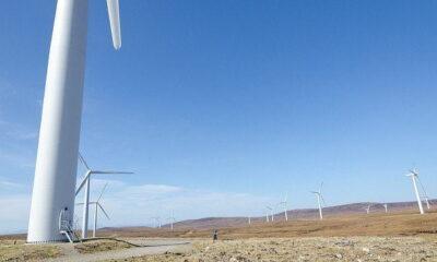 Farr Wind Farm by Steve Abraham via flickr