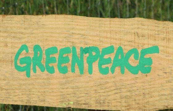 Greenpeace at Latitude 2010 by Howard Lake via flickr