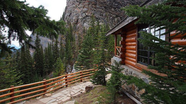 Log Cabin by Wilson Hui via Flickr