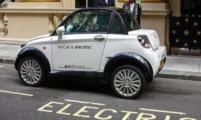 My electric Car! by tony hall via flickr