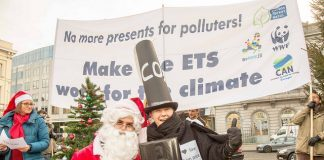 No more presents for polluters! by can europe via flickr