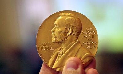 Nobel Prize Medal in Chemistry by Adam Baker via flickr
