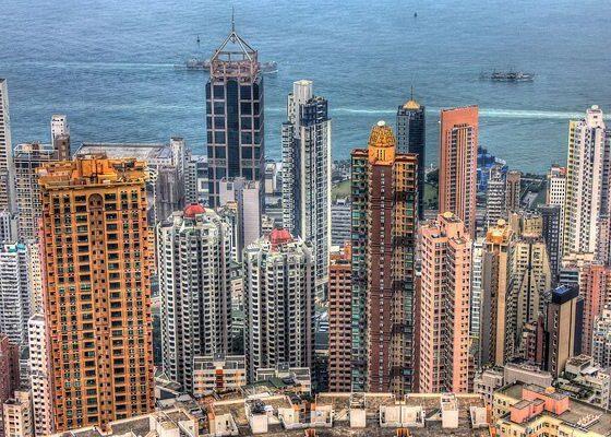 Skyscrapers of Hong Kong by Yinan Chen via flickr