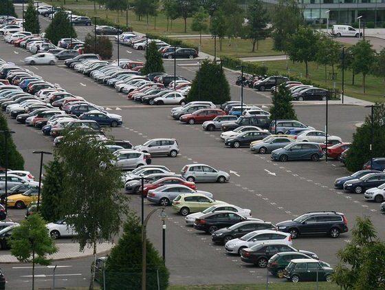 car park scene for a Time Capsule # 1 by Davocano via flickr