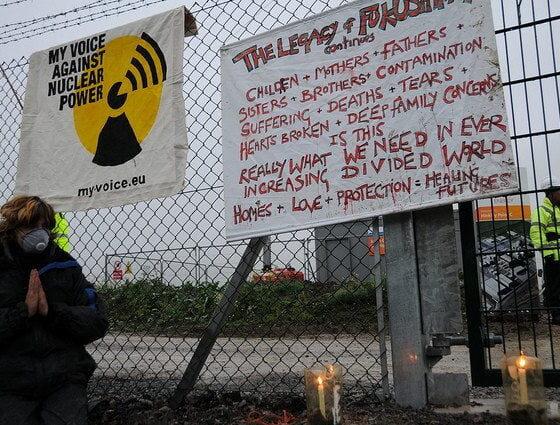 Blockade Hinkley Point 7 by GLOBAL 2000 via flickr