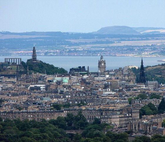 Coastal Edinburgh by Stuart Cale via flickr