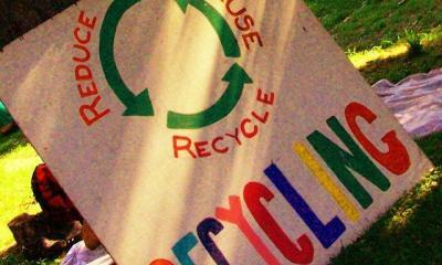 Recycling by Andy Arthur via flickr