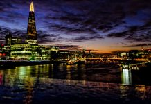 Sunset @ London by d26b73 via flickr