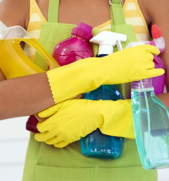 cleaning supplies affect environment