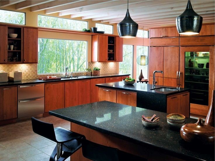 kitchen decor with sustainable material