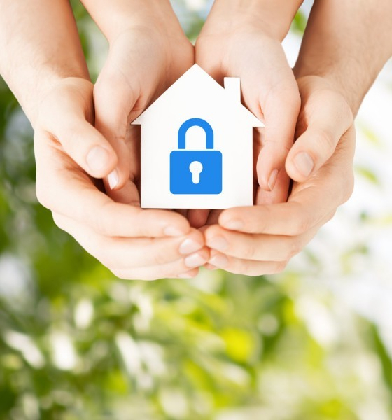 Green home security system