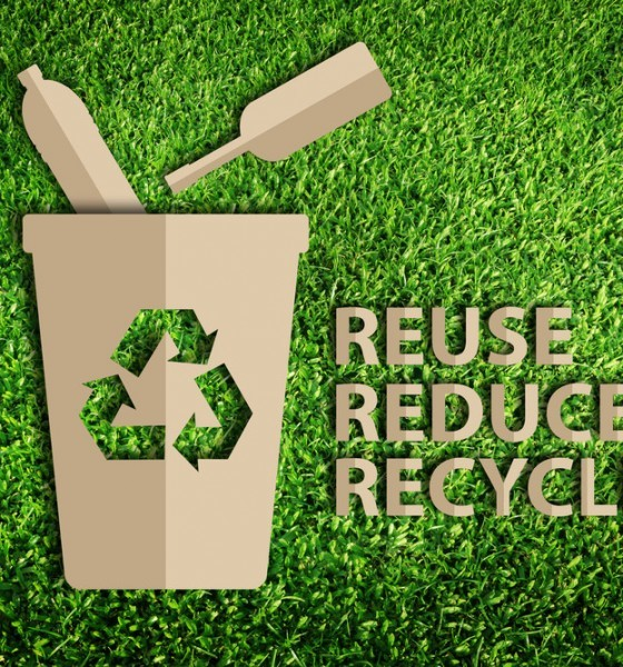 reuse reduce recycle plastic bottles etc