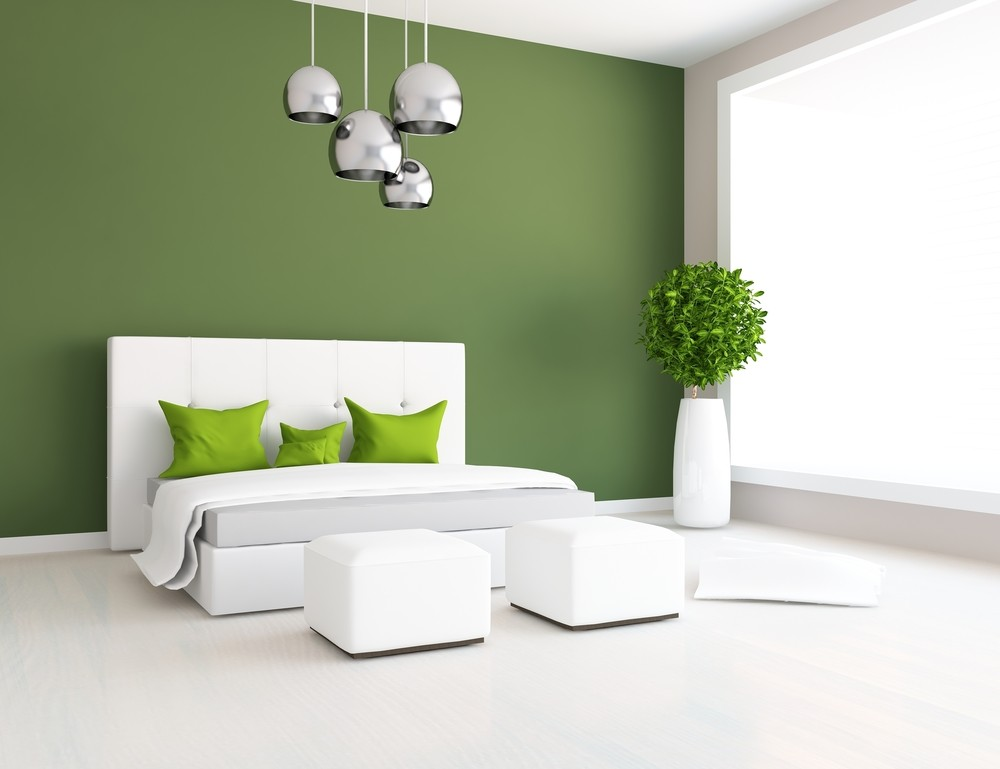 make bedroom greener