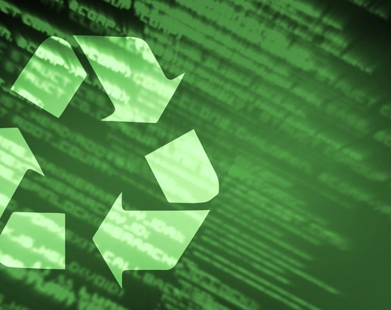 recycling for corporate green business
