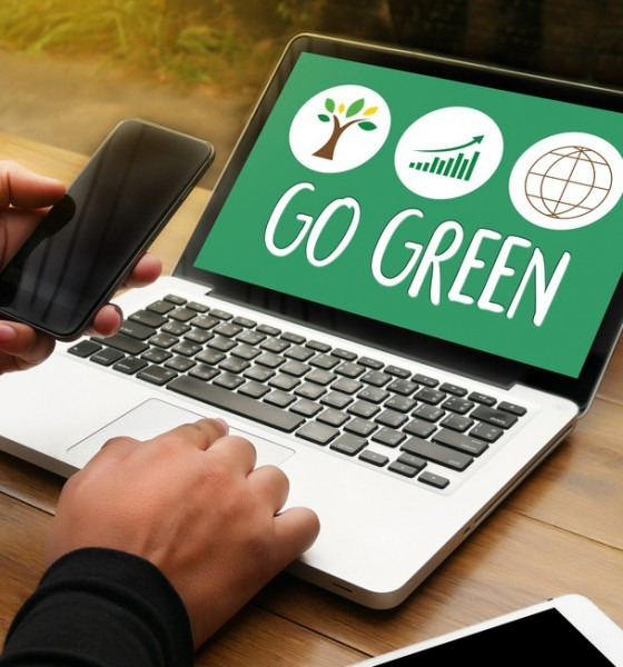 going green with technology