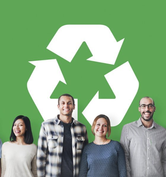 establish recycling culture in company