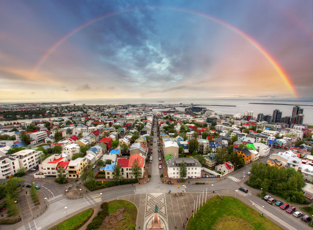 Reykjavik Iceland, most safe and eco-conscious city