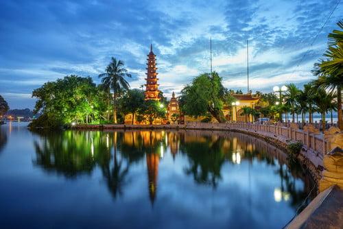 Hanoi Vietnam travel eco-travel ecotourism