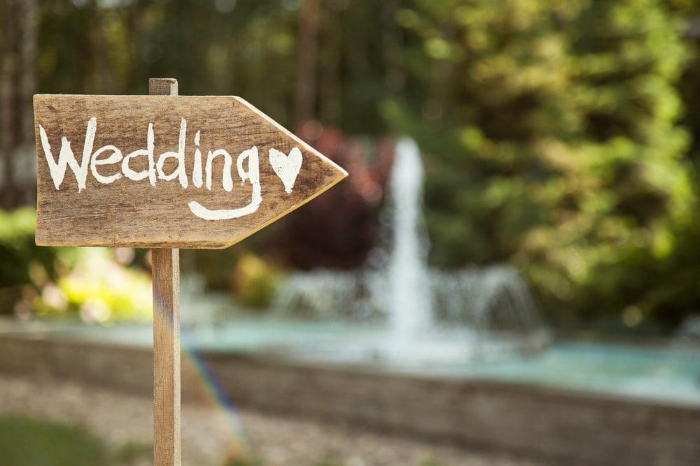 green wedding script