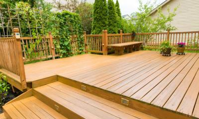 eco-friendly decking home
