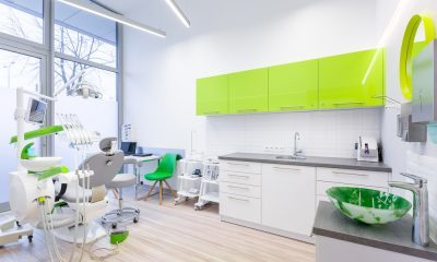 green dental office
