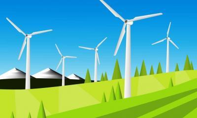 wind farm for energy