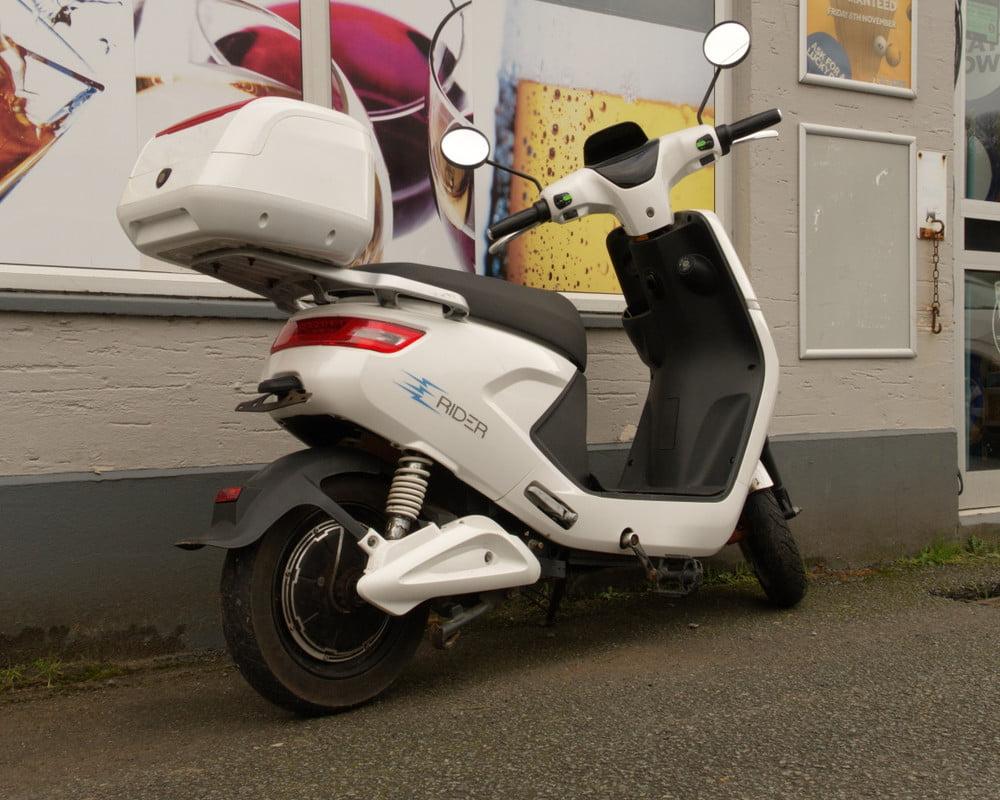 UK electric motorcycle market