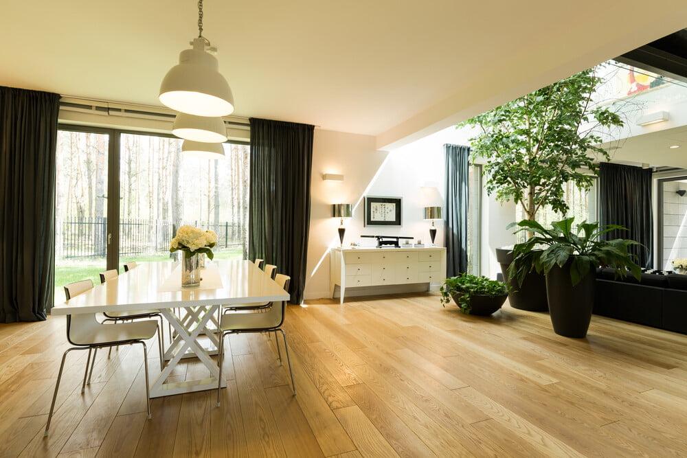 eco-friendly homes interior