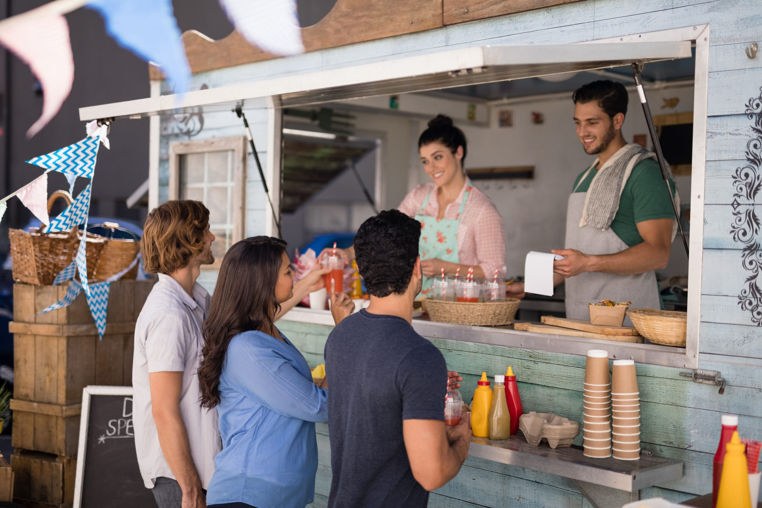 Sustainable business ideas for food trucks