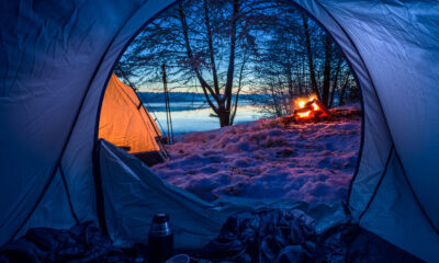 eco-friendly winter camping