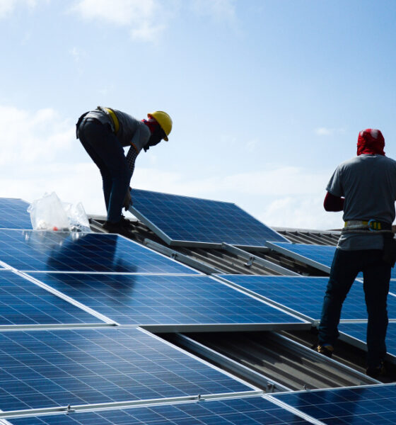 installing solar panels for business purposes