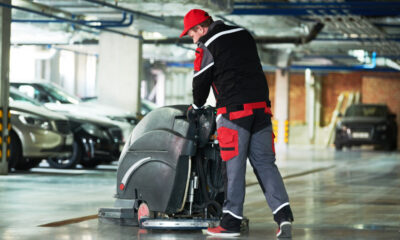 eco-friendly garage floor cleaning