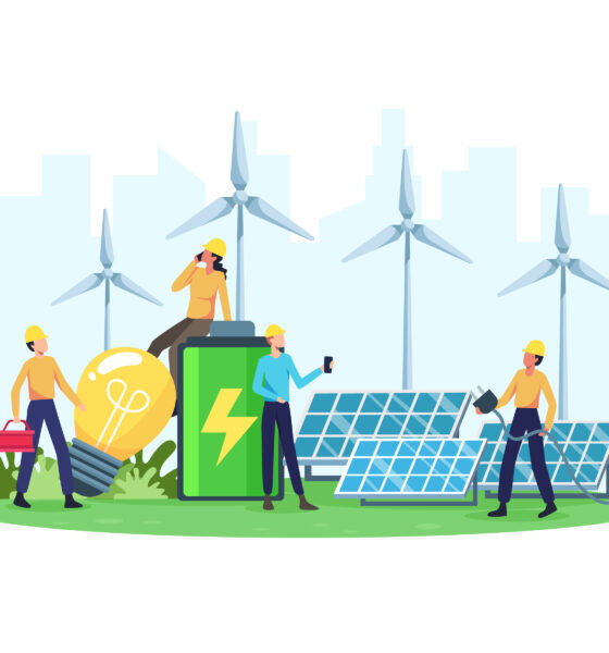 green backup power source
