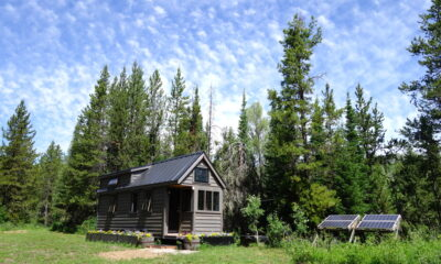 green living off the grid